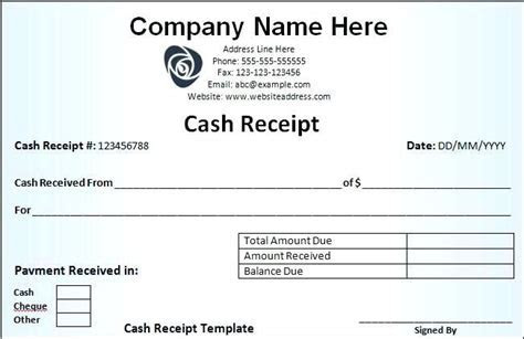 fees receipt format 8 fee school tuition for income tax