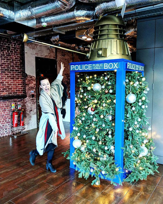 Google Stuffs Christmas Tree In Old Police Box