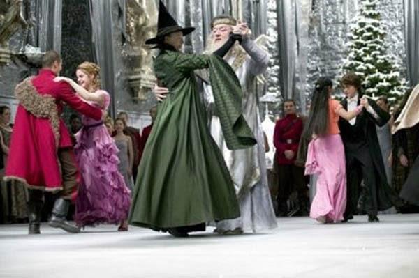 Resultado de imagen de harry potter y el caliz de fuego baile