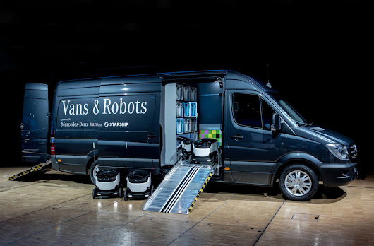'Robovan' by Starship Technologies and Mercedes-Benz Vans: future-proof local delivery - Starship Technologies