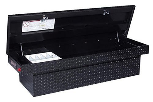 Weatherguard Truck Tool Boxes Knaack 127 5 Weather Guard Black Coated Aluminum Single