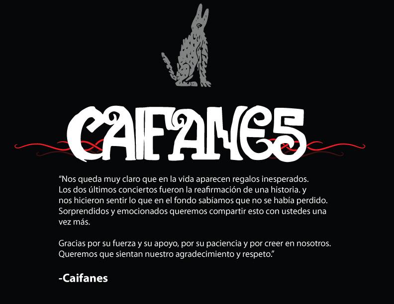 CAIFANES SE JUNTAN Y SALEN DE GIRA