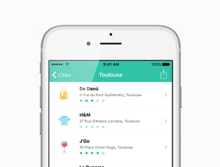 Placeboard: Your favourite places in your pocket