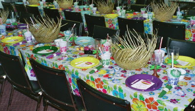 Homemade Easter Table Decoration Photograph | Homemade Hawai
