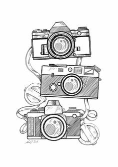 20+ New For Old Polaroid Camera Drawing Easy