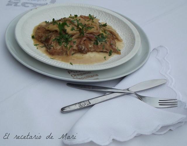 bistec de cerdo con salsa cremosa de manzana (2)