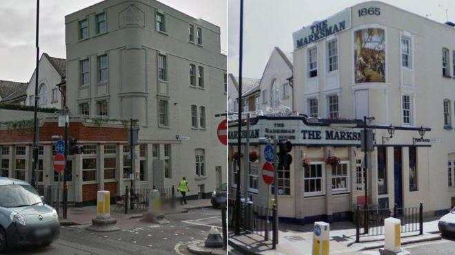 The Marksman pub