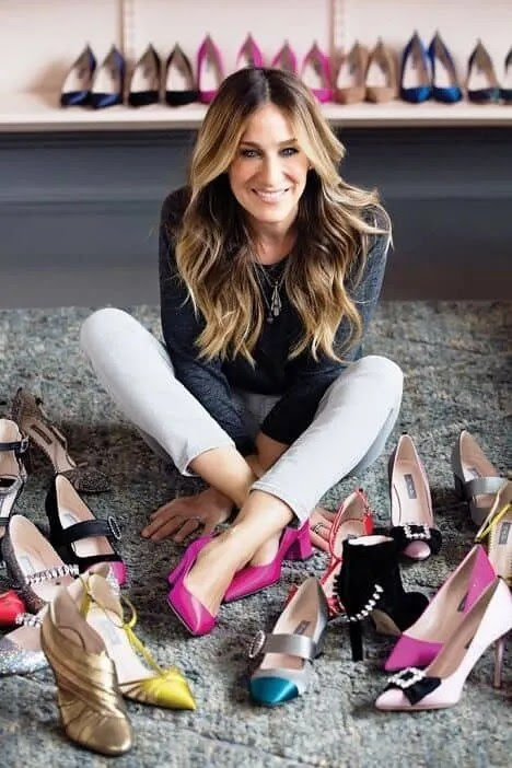 16 Iconic Carrie Bradshaw Shoe Quotes- Sex and the City!!! - From Size Zero To Wise Hero