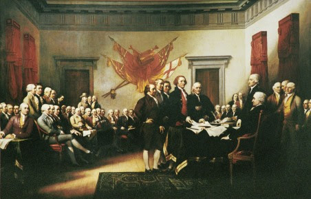 "John Trumball's ""Declaration of Independence"""