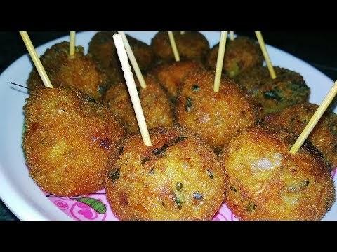 Potato Lollipop Recipe In Hindi
