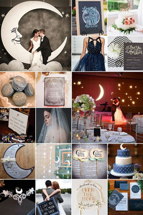 Over the Moon Wedding Theme