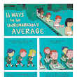 ZEN PENCILS » 92. CHRIS GUILLEBEAU: 11 ways to be average