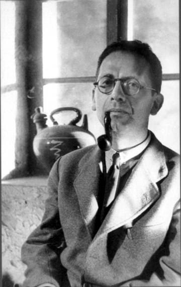 El escritor Max Aub en 1937.