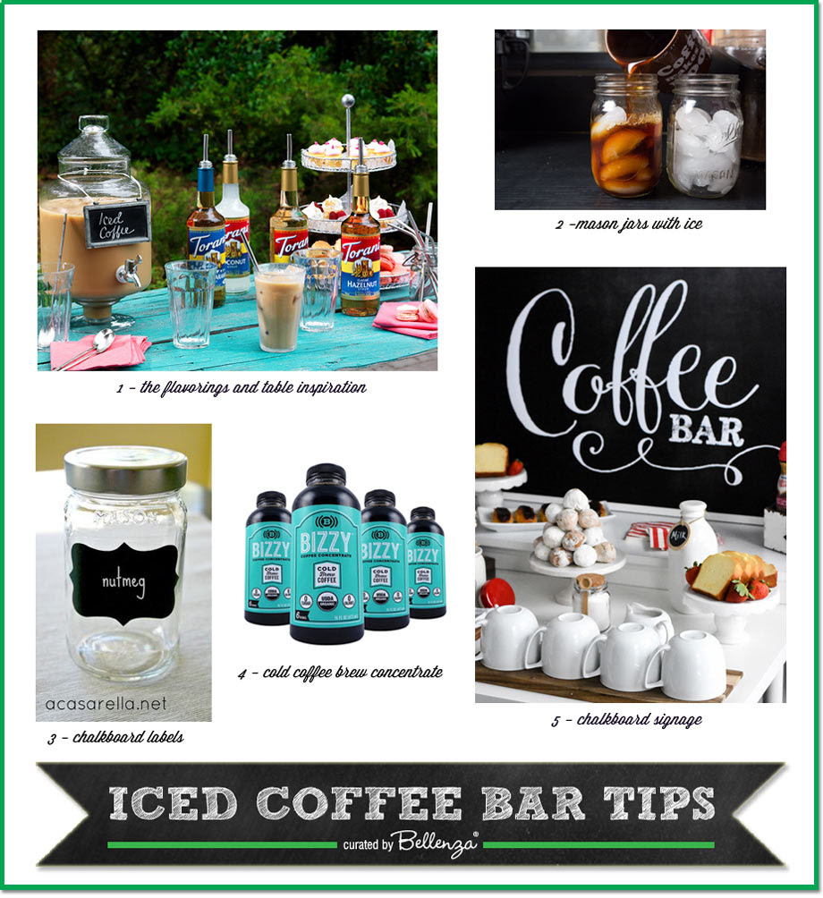 Tips For Setting Up An Iced Coffee Bar This Summer