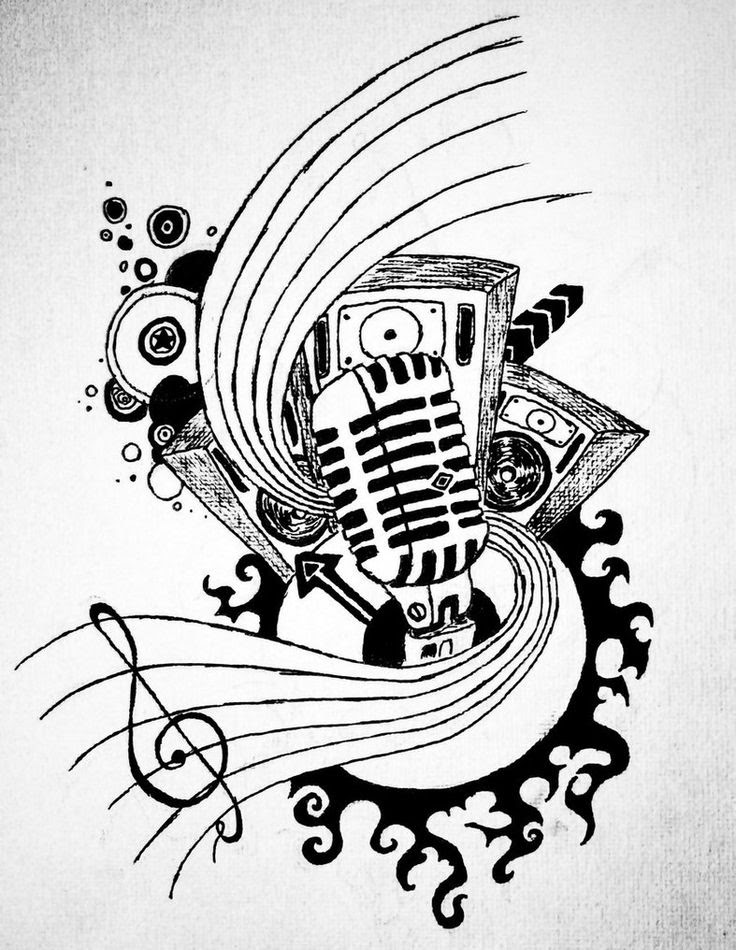 The Best Free Music Drawing Images Download From 50 Free Drawings