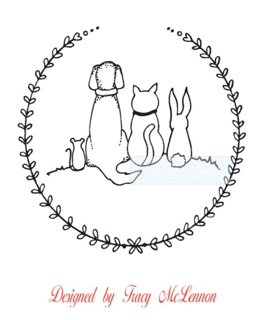 Pet Circle Stamp