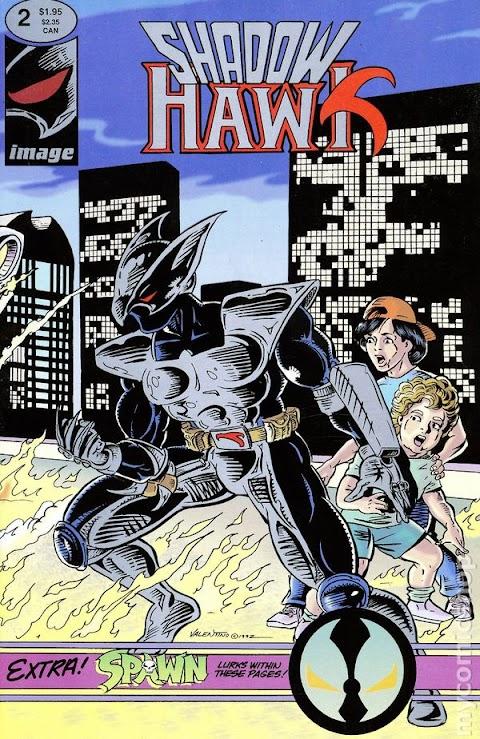 Who Is Shadow Hawk Comic Book