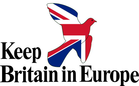 Keep Britain in Europe - the logo of the 1975 referendum campaign