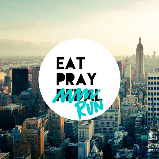 Eat Pray Run - What is this all about?