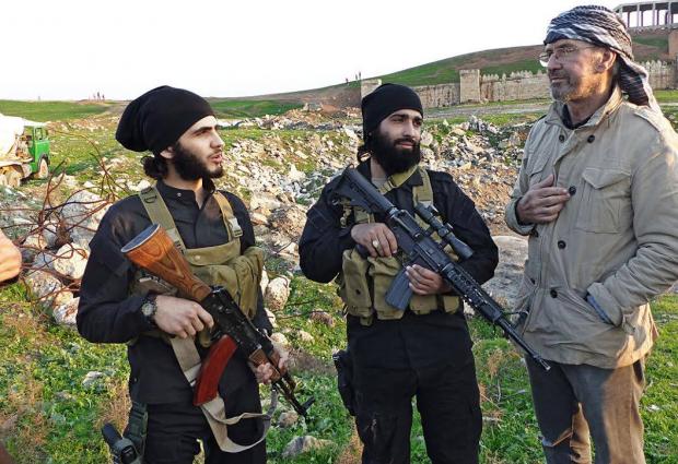 O jornalista com os jihadistas
