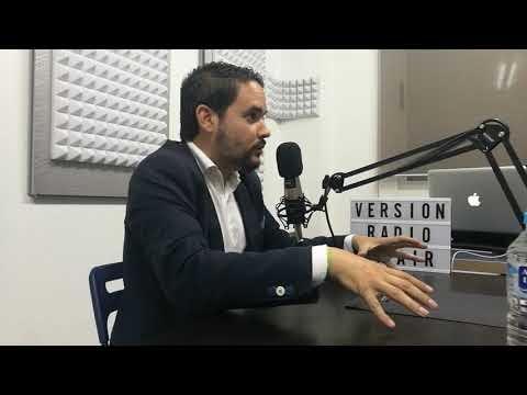 "Entrevista a David Caballero en ""Versión Radio"""