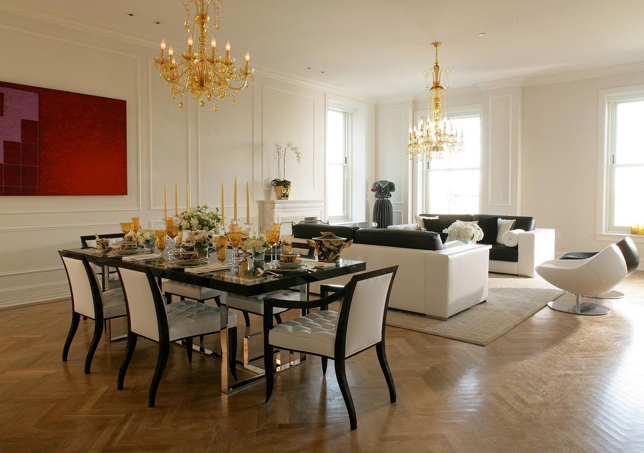 Count them Creative methods to decorate a living room dining room combo 13