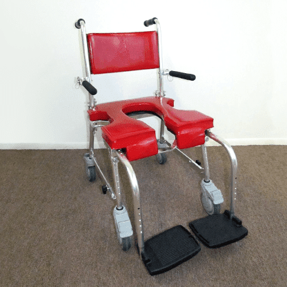 Shower & Commode Chair For People With Limited Mobility