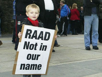 RAAD Not in Our Name !