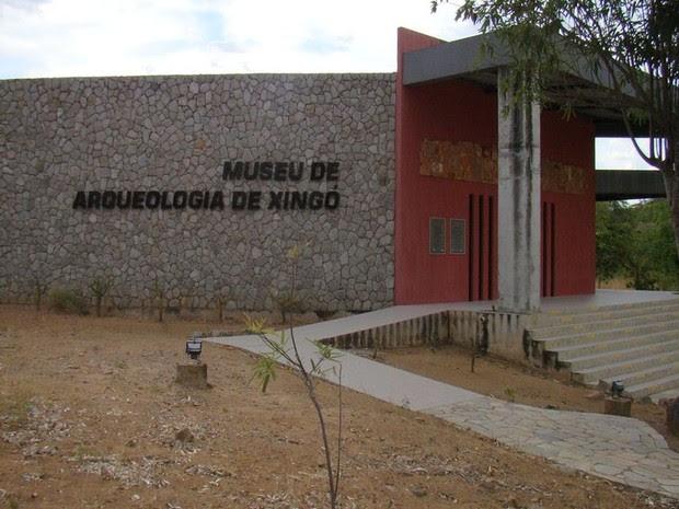 Museu abriga mais de 9 mil anos de história do Vale de Xingó  (Foto: Flávio Antunes/G1)