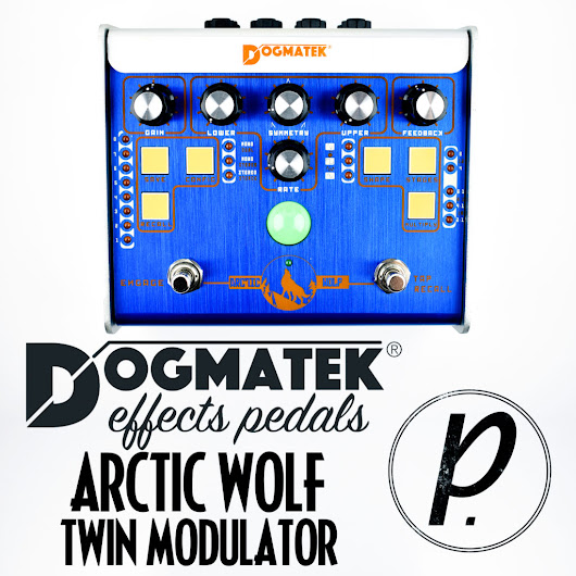 Dogmatek Effects Pedals Arctic Wolf Twin Modulator Phaser - Pedal of the Day