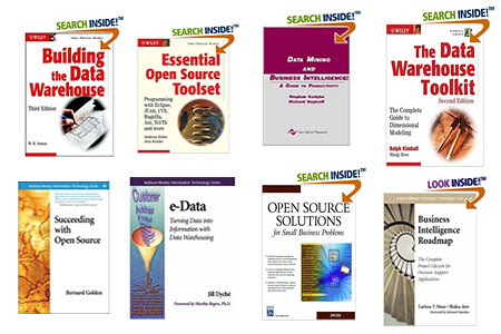 Libros sobres Business Intelligence, DW y Open Source