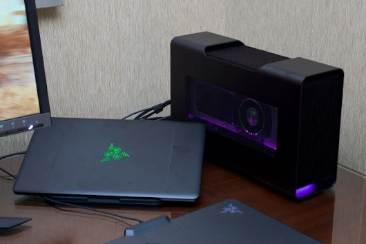 Razer uses Thunderbolt 3 to add dedicated graphics to its sleek new Ultrabook | Ars Technica