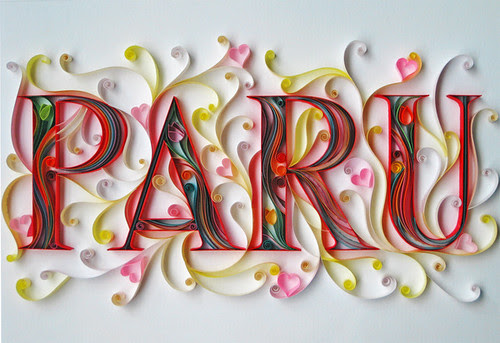 quilled-name-paru
