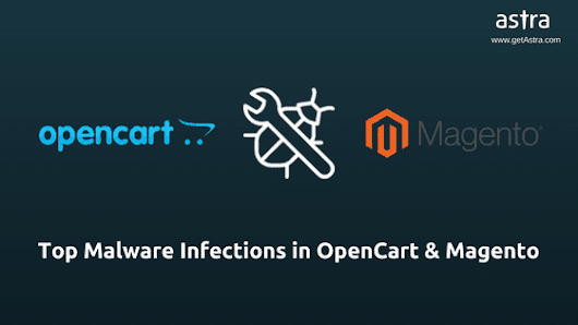 The Top 3 Most Common OpenCart & Magento Malware Infections - Astra Web Security Blog