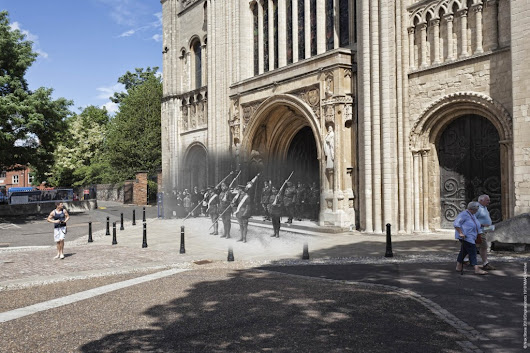 Invisible Works  » Ghosts: Norwich Cathedral 1919