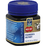 Manuka Health Honey, MGO 400+ - 8.8 oz jar
