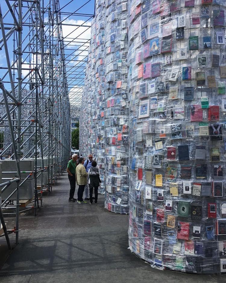 Marta Minujin - Parthenon of Books - Documenta 14