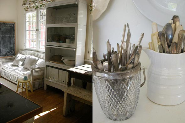 Michelle Long of Bohemienne kitchen and flatware.