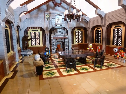 The big Castle Hall #moc #lego #castle #medieval #knights CCCXII ...