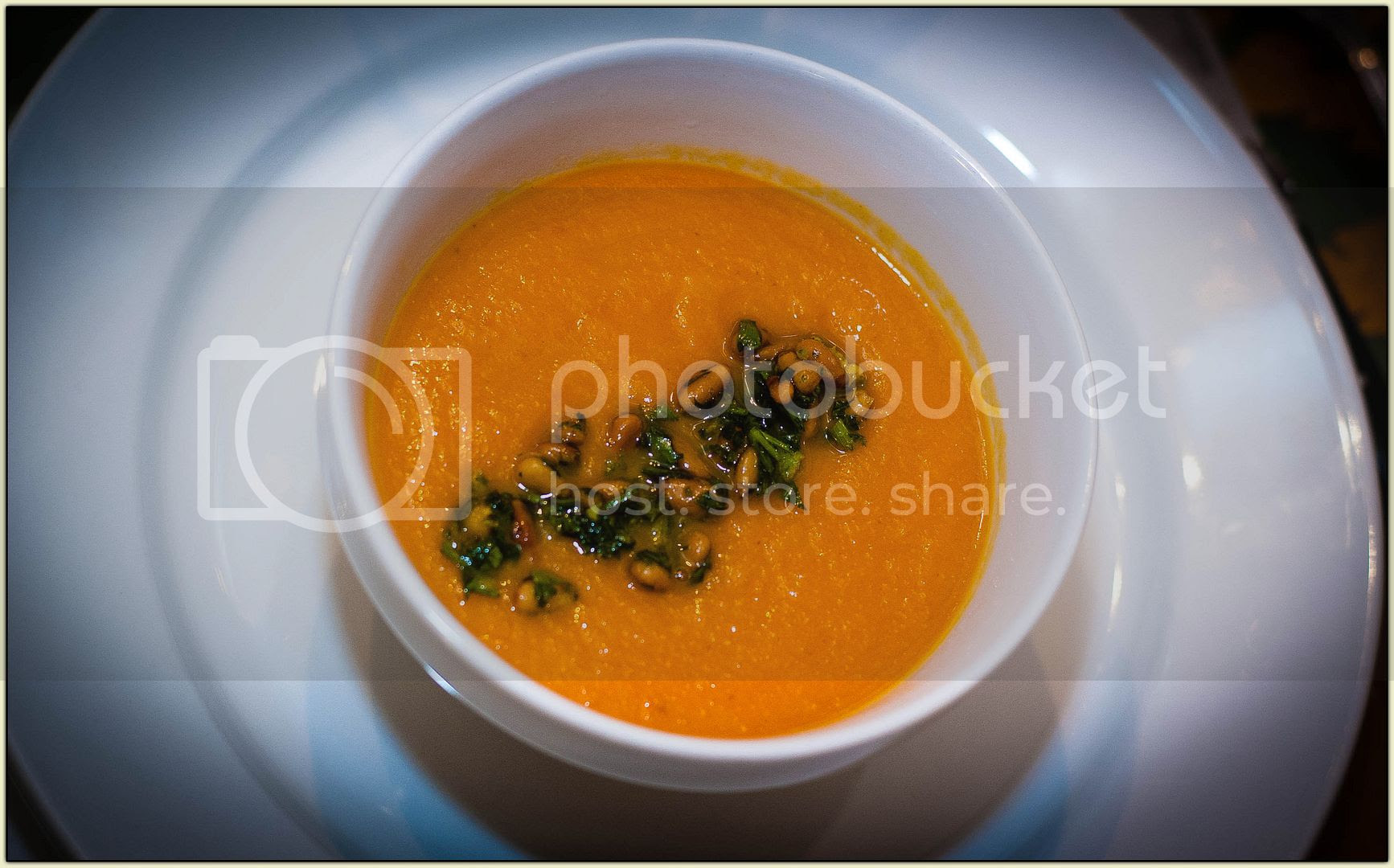 Spicy Carrot-Ginger Soup