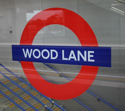 Wood Lane Underground station by Bowroaduk
