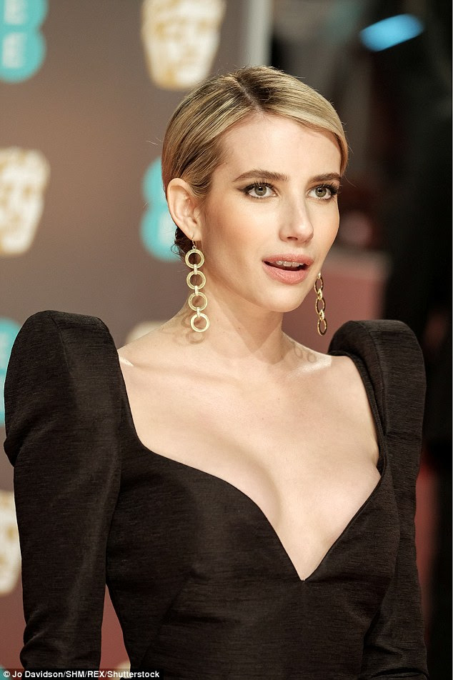Star studded! Emma Roberts made the trip across the pond to attend the star-studded BAFTAs at London's Royal Albert Hall on Sunday night