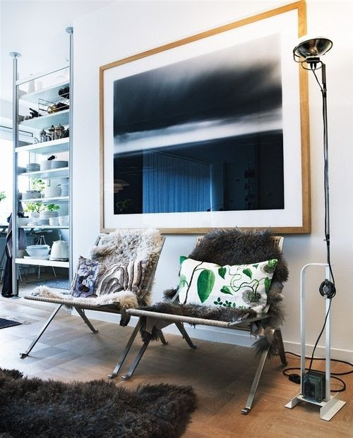 CURRENT INSPIRATION Ingerstedt SWEDISH NORWEGIAN INTERIOR DESIGN LEATHER CHAIRS MID CENTURY LEATHER FUR 9