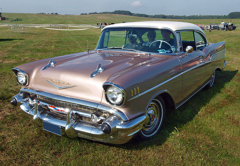 File:1957 Chevrolet BelAir, AM-93-38 p1.jpg