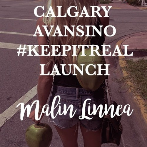 Calgary Avansino #KeepItReal Launch At Liberty by Malin Linnéa Cronholm
