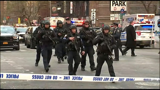 LIVE: 'Pipe bomb detonated' in New York