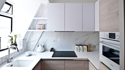 20 Perfectly Crafted Small Kitchen in Condos | Home Design Lover