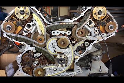 Audi 42 V8 Timing Chain