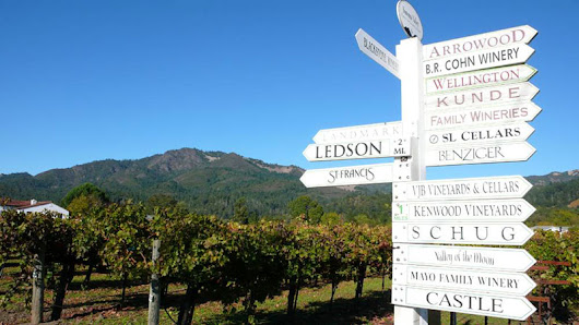 The Difference Between Napa and Sonoma - Small Lot Wine Tours