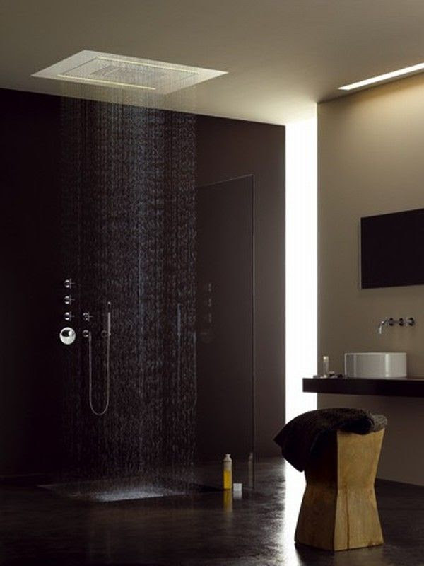 16 Photos of the Creative Design Ideas for Rain Showers ...
